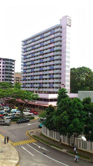 Singapore- Jalan Kukoh housing estate (food court) SonyEricssonST18i Mobilephotography