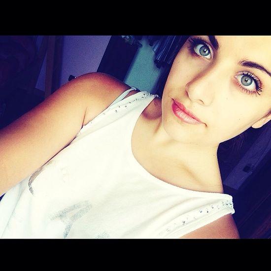 Instagram Me Happiness Smile #eyes#big#green #summer2014 #followme #followback #likeforlike ?✨