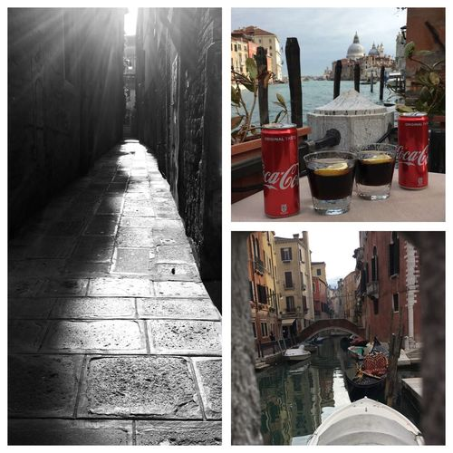 Grand Canal Venice, Italy Venice Coco Cola Transfer Print Auto Post Production Filter Architecture Day No People City Nature Sunlight Outdoors The Great Outdoors - 2018 EyeEm Awards