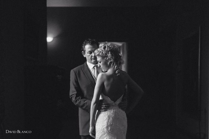 Una imagen de la boda de A+A Wedding Love Bodas Black & White