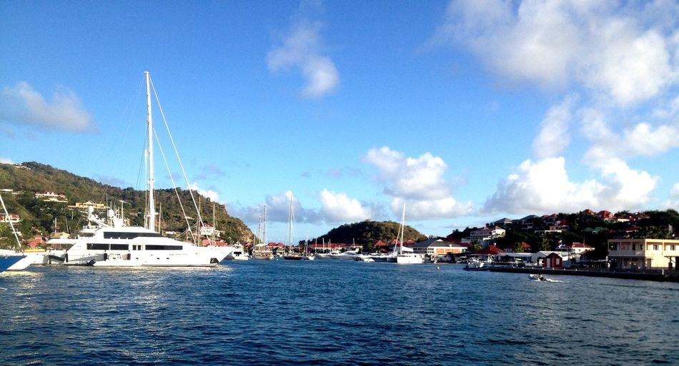 Gustavia - St Barth's view from my door ! Enjoying Life