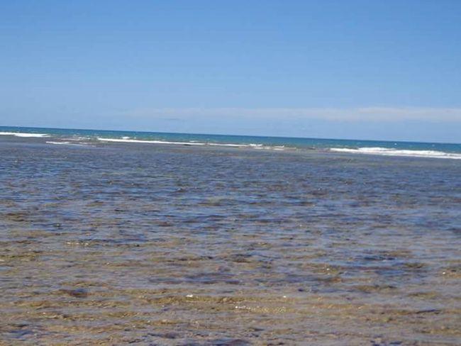 Encontro do rio com o mar. - Porto Seguro - BA