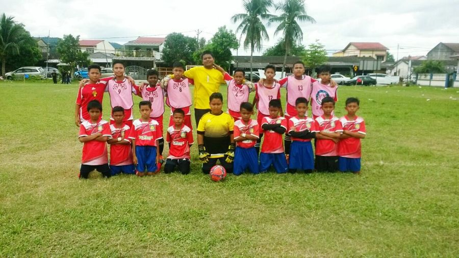 Adapted To The City Grass Outdoors Day Green Color Football Team Footballplayer  Friendship ❤ Teamwork Sports Enjoying Life With Friends