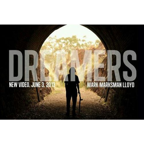 """guys please go on YouTube and have a listen! its @marksmanlloyd and his song """"Dreamers""""! Marksman Dreamers"""