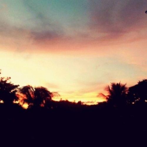 Por do sol ^^ :3