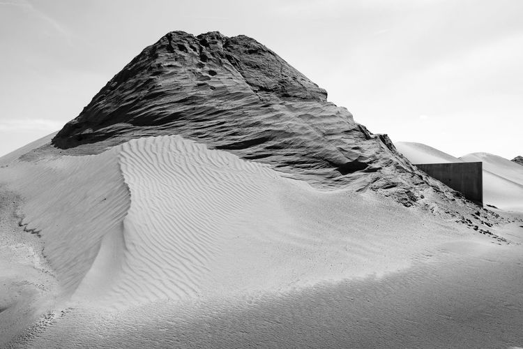 From the series 'L'homme qui fait des montagnes' Antwerp Antwerpen Belgium Bergen Blackandwhite Environment Land Landscape Man Made Landscape Mountain Mountains No People Sand EyeEmNewHere