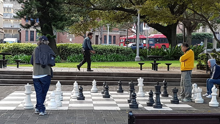 Chess Players Pasttime Ordinarypeople A Day At The Park Game Day Checkmate