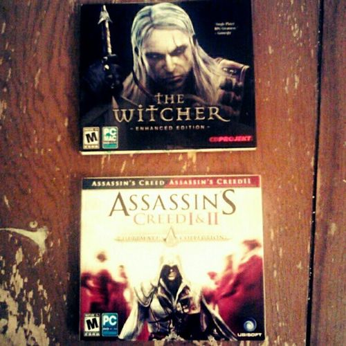 So, Sean and I just bought #thewitcher and #assassinscreed 1 & 2 combo pack for only $20. Go us! #pcgamer #assinssinscreedii #wtfgamersonly #videogames #pcgames #goodtimes #gamingcouple #gamercouple #ilovevideogames #gamers Gamingcouple GoodTimes Gamers Videogames Assassinscreed Wtfgamersonly Thewitcher Gamercouple Pcgames Computerames Pcgamer Assinssinscreedii Snapplay Hardcore_gamer_girls Ilovevideogames