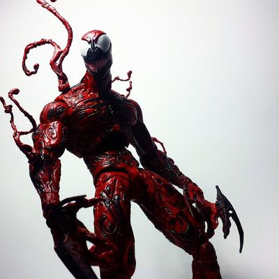 Marvel Marvelselect Diamondselect Carnage Cletuskassidy Symbiote Spiderman Marvelcomics Marvelnation MarvelFan Toyfan Actionfigure Toys Toyphotography Toypizza Toysarehellasick Toycollector Toycommunity