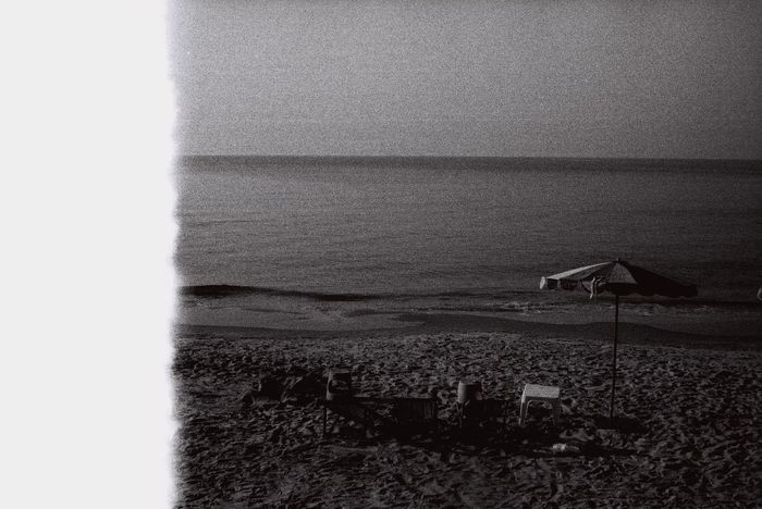 I took this Seashore pic by using my film. Textured  Pattern Full Frame Backgrounds Close-up No People Indoors