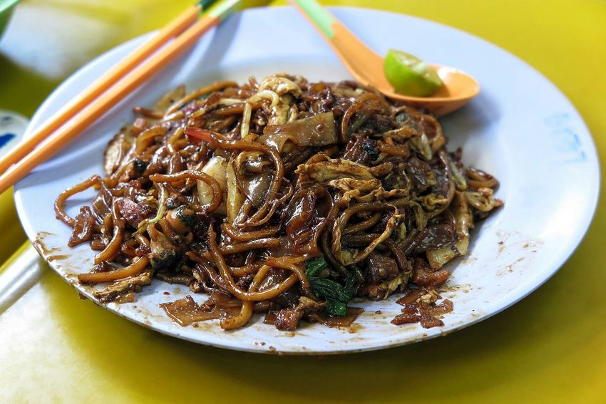 Char Kuay Teow Fried Noodles Sgfood Foodporn Singapore Hawker Food The Foodie - 2015 EyeEm Awards Food Porn Awards
