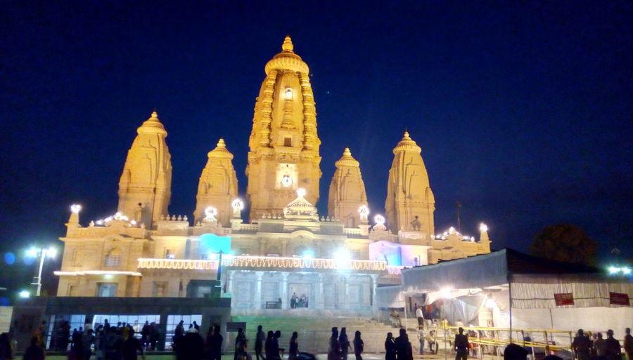 Faith of hindus temple in night Religion Travel Destinations