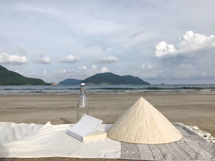 Vietnam Beach Tranquility Sea Nature Sky Scenics ConDaoisland Shore Sand Cloud - Sky Outdoors Tranquil Scene Day Beauty In Nature Water
