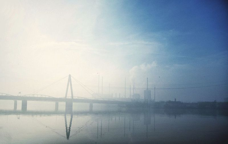 Foggy Morning WeatherPro: Your Perfect Weather Shot Sun Comes Out Industrial Photography Reflection_collection Bridgesaroundtheworld Melancholic Landscapes Showcase: February Down By The River