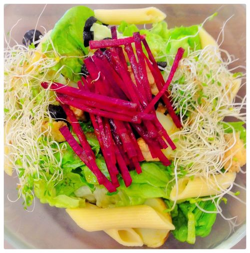 Salad Bowl Vegetarian Food Vegetarian Salad