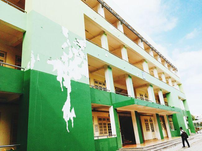 vội vàng 🍀 My School My Green My Luv  First Eyeem Photo