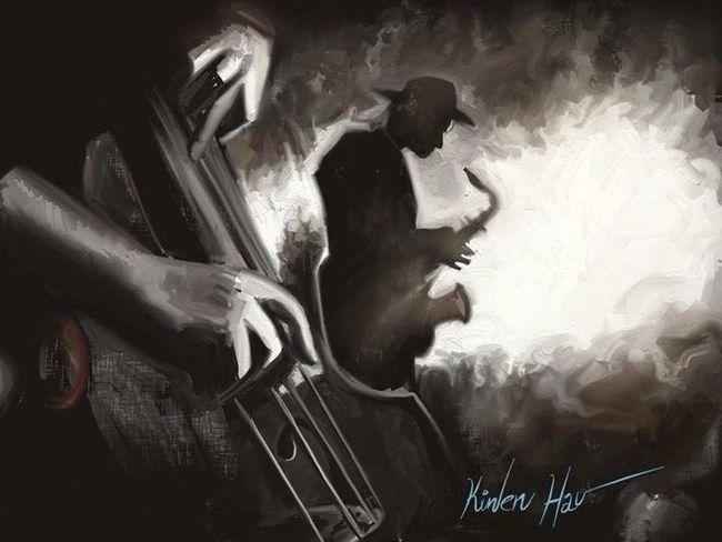 I love jazz ... iPad app: art ART RAGE y PROCREATE My Ipad Art Art Digital Art Drawing