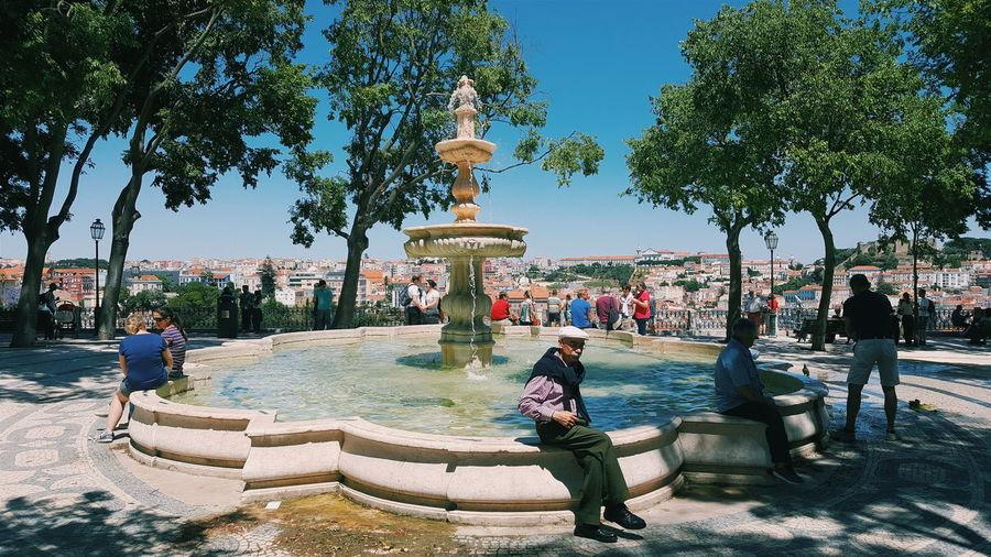 Summer Lisbon Lisboa Portugal