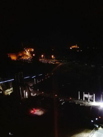 Night Illuminated Theatre Roman Theatre