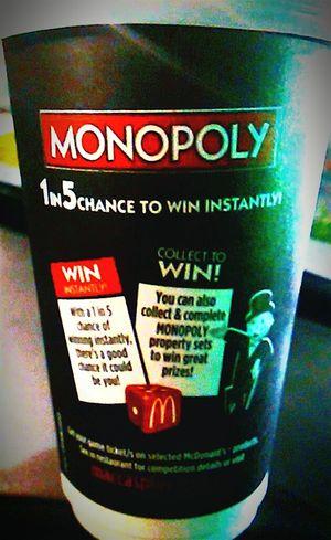 Mc Café]Mc Donald's]Mc Donalds]Macca's]Monopoly]Mcdonalds]The Golden Arches]Golden Arches]Coffee Cups] Drink Cups I'm Lovin' It