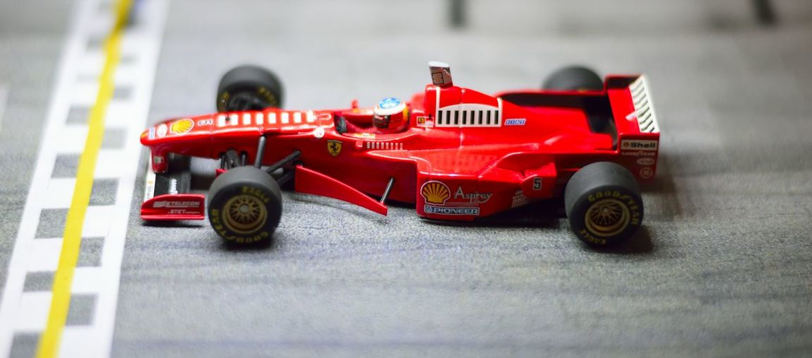 Diecast Ferrari Formula 1 Michael Schumacher Michael Schumachers Car Auto Racing Close-up Competition Diecastcars Diecastphotography Diecastphotograpy F1 Motorsport Racecar Speed Sport Sports Race Sports Track Toy Toy Car The Week On EyeEm EyeEmNewHere Paint The Town Yellow Second Acts