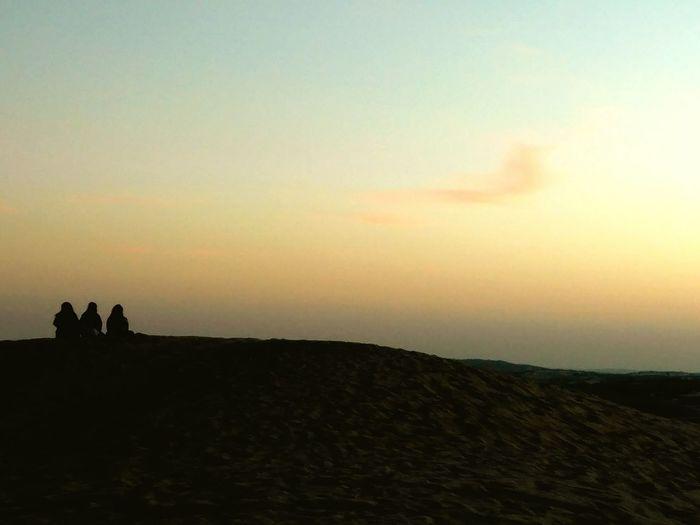 Gazing In The Sky In The Desert Jaisalmerdesert