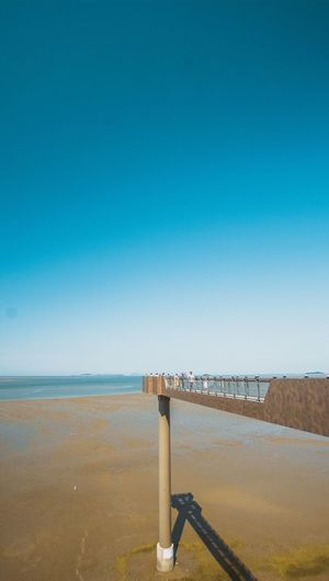 Sea Water Blue Beach Horizon Over Water Nature Clear Sky Architecture Bridge - Man Made Structure EyeEm Best Shots Traveling