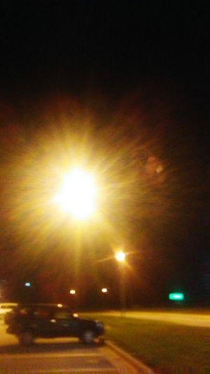 Illuminated City Road Street Light Car Land Vehicle Sky This Is Strength EyeEmNewHere