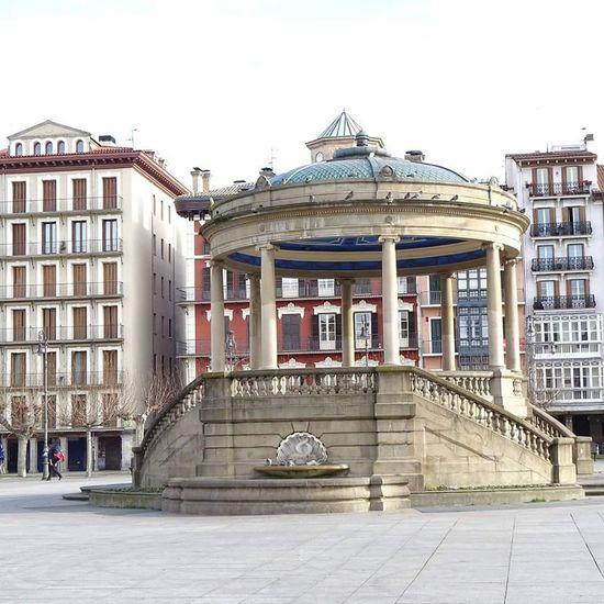 La Plaza del Castillo con mi Sony HX400 V Architecture Pamplona, Edificios Públicos, Navarra, Spain, Es