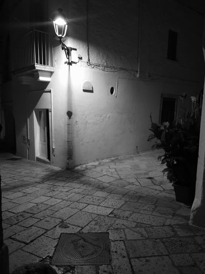 Illuminated No People Architecture Locorotondo Night Puglia, Italy Puglia South Italy Italy🇮🇹 No Filter, No Edit, Just Photography No Edit/no Filter No Filter Blackandwhite Photography Black And White Photography Blackandwhitephotography