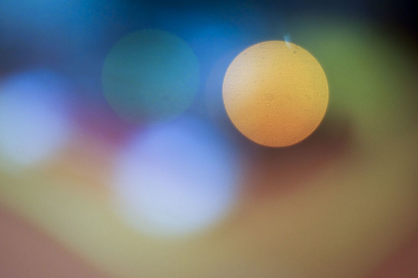 Bokehlicious Bokeh Circles Close-up Color Day Multi Colored No People Yellow