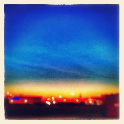 Bokeh Blue Wave Beautiful Happiness Enjoying Life Sunrise