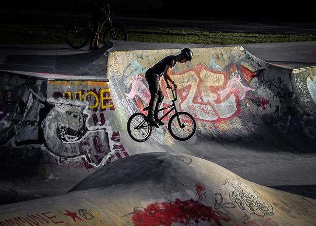Bicycle Bmx  Bmxlife Extreme Sports Outdoors Graffiti Eyeem Graffiti Frankfurt Germany