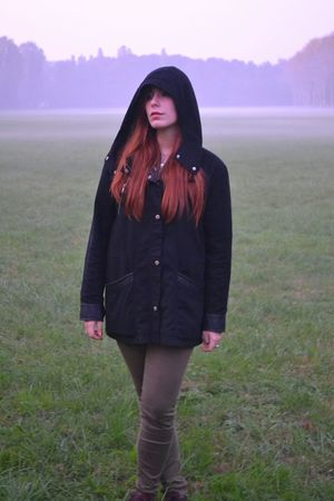 Beauty One Person Human Body Part Nature Women Young Adult Outdoors Day One Woman Only Beauty In Nature Beautiful Terrific Worldwide_shot Lost In Nature Freedom Life Red Lips Redhead Italy Grunge Pale Skin Like4like Love Nofilter Fog