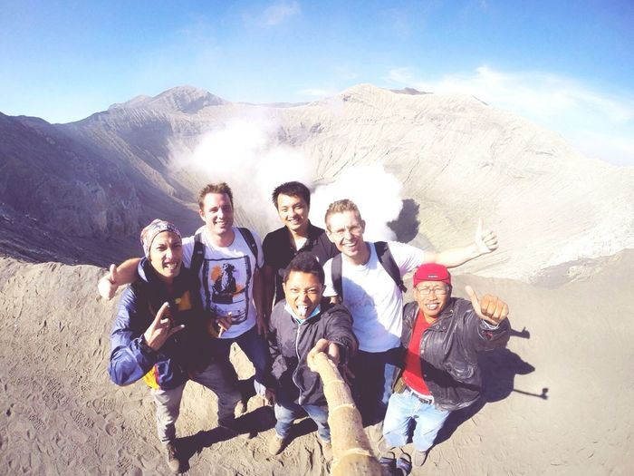 RePicture Friendship Mountains New Friends ROCK ON! Selfie Stick