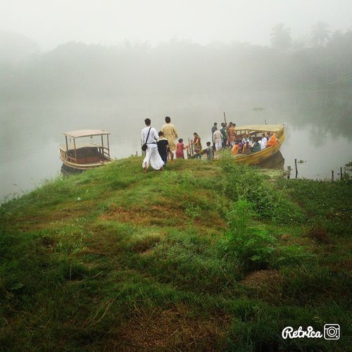 Glimpse of mayapur iskcon. Glimpse Of Mayapur Iskcon temple lord krishna krishnaconsciousness me my instadaily all prabhujis mridanga greenery fog early morning devotional pleasant lovely charming pond boat water TagsForLikes follows instadaily instamood instagram