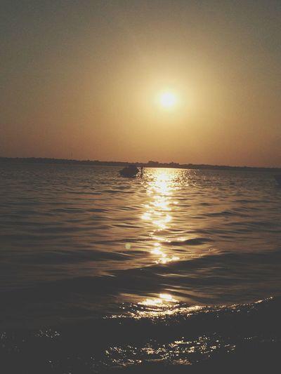 Sunset Summertime Beachlife Sky