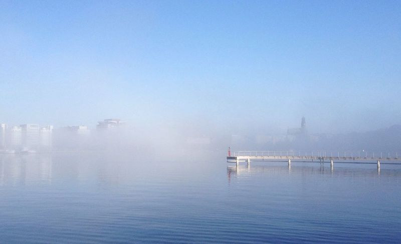 The fog takes over Eye4photography  EyeEm Nature Lover Its A Beautiful Day MADE IN SWEDEN