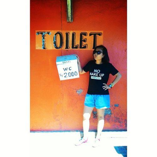 Bismillah usaha baru Semogadipermudahkan Semogalancarjaya Semogasukses barakallahu 😇😊🚿🛀🚾 boleh gratis tapi bawa aer sendiri 😅 toilets toiletumum theyoungest enterpreneur eksmud 😎