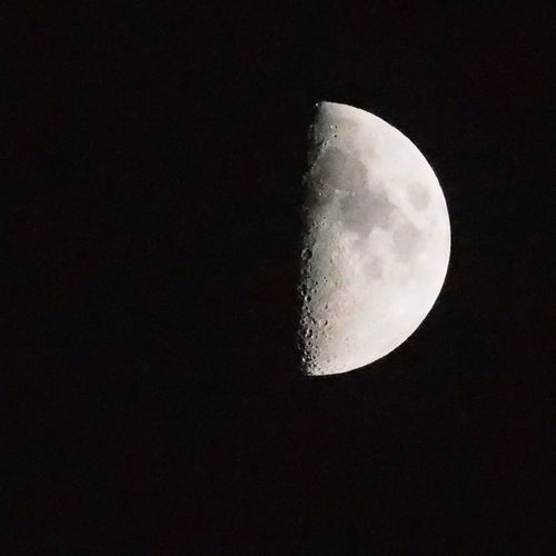 LunarX Moon Moon Shots Moon Surface Moon_collection Quarter Moon WernerX 上弦の月 月面X