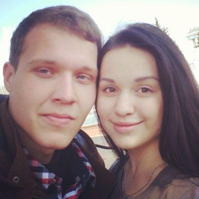 МишаПлюсНастяРавноСчастье я и моя любимая @ladyserebrennikova :)