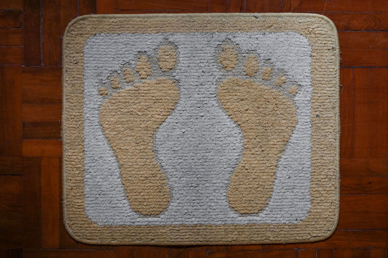 Doormat. Brown