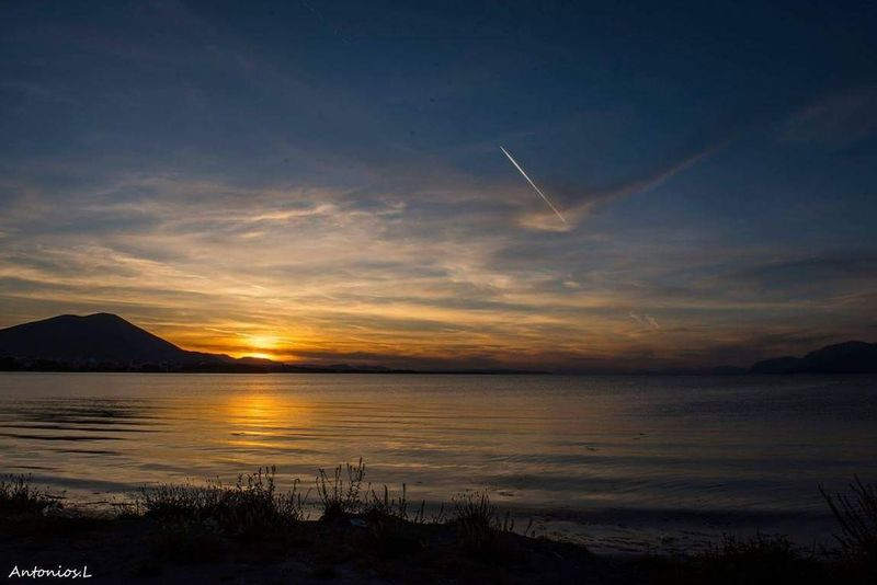 Sky Water Scenics - Nature Nature Sea Sunset Reflection