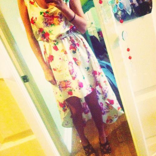 #ootd #floraldress