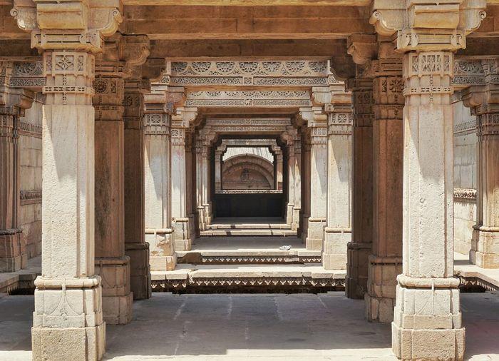 Adalaj Stepwell. An amazing place. Adalaj Adalajstepwell Stepwell Ahmedabad India