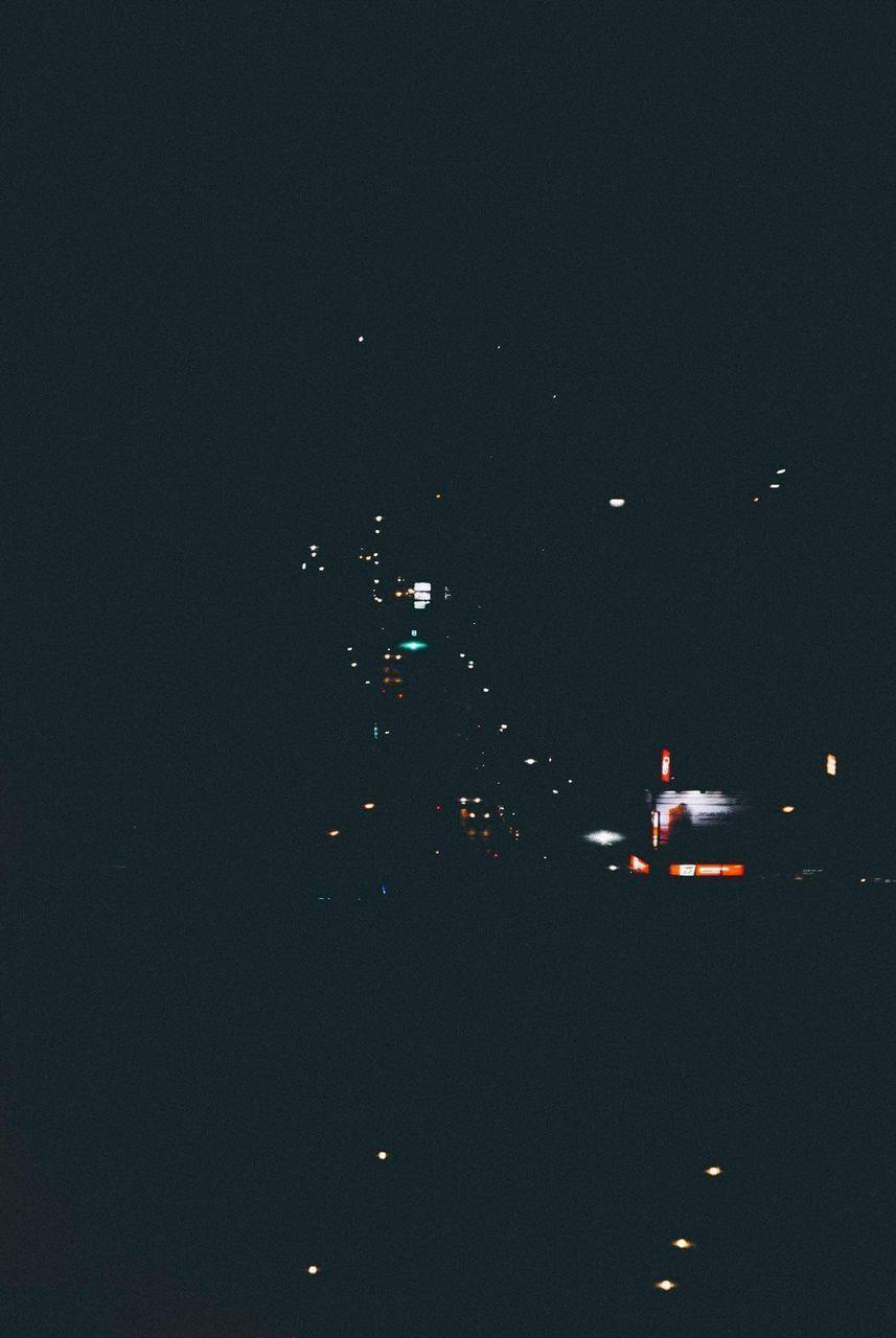 night, illuminated, transportation, mode of transportation, city, no people, copy space, car, sky, architecture, motor vehicle, dark, street, nature, lighting equipment, outdoors, road, traffic, land vehicle, building exterior