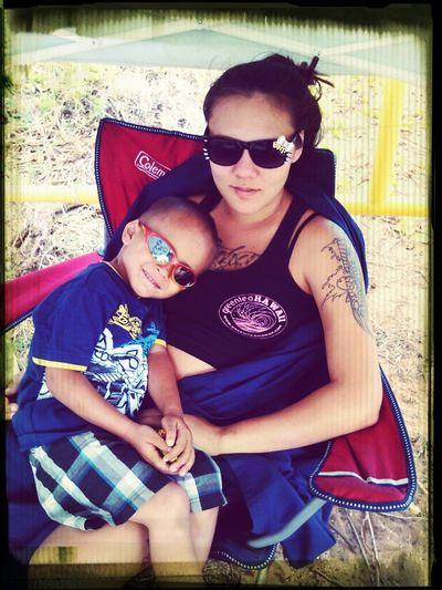 Me n my babys :)