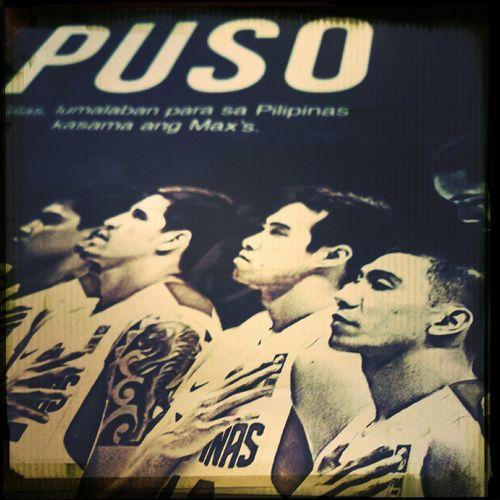 Filipino pride! PusoToTheMax LabanPilipinas