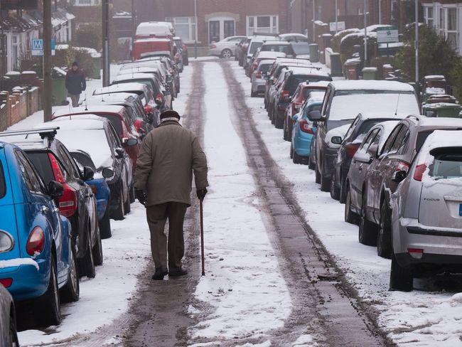 Everyday difficulties of snow - Tunbridge Wells, Mar 2018 EyeEmReady EyeEm Best Shots - The Streets Snow Winter City City Street Street City Life Cold Temperature