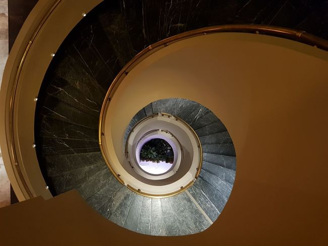 Spiral staircase, Sway Hotel, Erzurum Fibonacci Spiral Spiral Staircase Travel Vortex Architecture Built Structure Circle Day Divine Proportion Fibonacci Golden Number Hand Rail Hotel Indoors  No People Railing Ratio Spiral Spiral Stairs Staircase Stairs Steps Steps And Staircases Sway Hotel